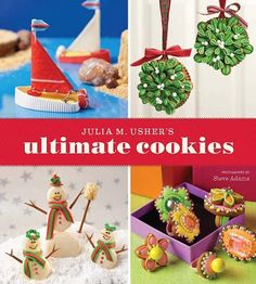 ushers, cookie swap, cookie dough, book, cookie decorating