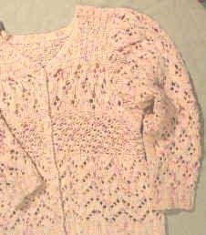 lace stitch sweater