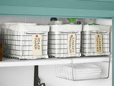 Linen Closet Organization Ideas - How To Organize a Linen Closet - Country Living