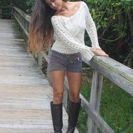 Easy Sweater look for warmer climates $65 Mora Girls / Shop MoraGirls.com via <3DD