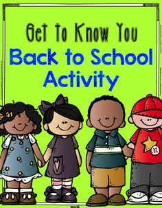 Back to School: Get to Know You Activity plus FREE printable.