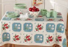 Kitchen Tablecloths Vintage & Reproductions