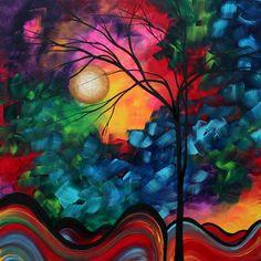 Abstract Landscape.    Megan Duncanson.