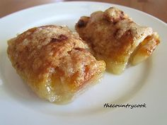 New Year's Day breakfast: Easy Apple Dumplings (using crescent rolls). These are scrumpdillyicious! Seriously, melt  in your mouth good! We use a 13x9 pan, cut the crescent rolls in half to make 16 triangles instead of 8 & and use 16 apple slices. We do not use more of anything else but if it looks dry to you, add a little more sprite. Note: Sierra Mist does not taste right.