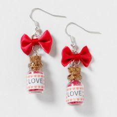 Pixie Dust Bottle Earrings - These are so cute!
