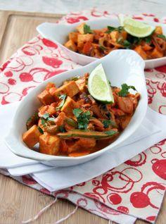 Red Thai Tofu (or chicken/shrimp/etc) Curry