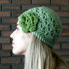 Whip up a fun winter flower hat with this free pattern. Delicious hat, thanks so for freebie xox http://growcreative.blogspot.co.uk/2012/02/shell-stitch-crochet-hat-free-pattern.html
