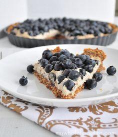 Grain Free Blueberry Tart