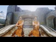 Skyrim : Gangnam Style Dance - this is SO cool.