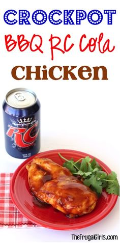 Crockpot BBQ RC Cola Chicken Recipe! ~ from TheFrugalGirls.com ~ just 3 ingredients and you've got such an EASY, delicious Slow Cooker Dinner! #slowcooker #recipes #thefrugalgirls