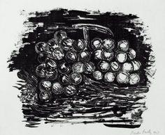 "Marsden Hartley ""Grapes."" Museum of Fine Arts, Boston."