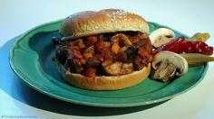 Introduceing Mushy Joes, Sloppy Joes Meatless Cousin! #MeatlessMonday