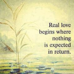 Real love..