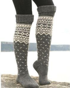 awesome knee length socks