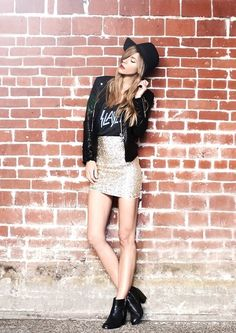 #HenHeaven - Perfect Party Night beauty and outfit ideas