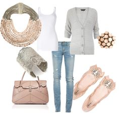 comfy casual in pale pink