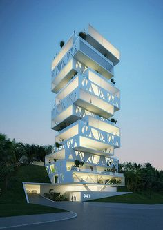✯ The Cube in Beirut, Lebanon (Apartment Complex)
