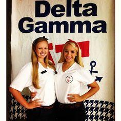 Delta Gamma on Philanthropy Day at UA