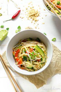 Vegan Satay Noodles