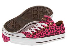 Converse Chuck Taylor® All Star® Printed Canvas Ox pink leopard