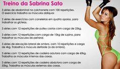Treino Sabrina Sato