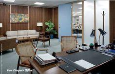 Don Draper's office in Mad Men