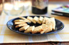 Rosemary Goat Cheese Crackers