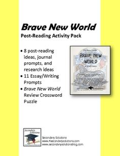 an analysis of the ideas presented in the brave new world by aldous huxley Brave new world by aldous huxley : an analysis of the themes of  that the  reader is able to discern how the ideas of consumption and utopia.