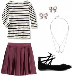 Outfits under $100: 4 chic looks for the first day of school