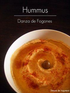 Receta de Hummus en www.danzadefogones.com