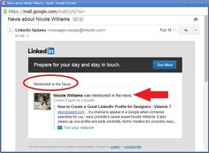 In The News? LinkedIn Knows!