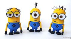 Despicable Me Minions 3D Quilling