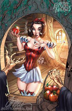 Snow White 2010 by J-Scott-Campbell