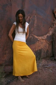 Mesa Skirt hemp/organic cotton  organic by DamselflyOrganics