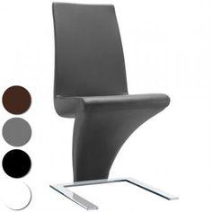 Chaise design on pinterest stables poufs and sons for Bureau blanc et noir