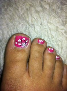 toe flower art - Nail Art Gallery by www.nailsmag.com #nailart