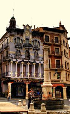 El Torico. simbolo de la ciudad de Teruel.  Spain