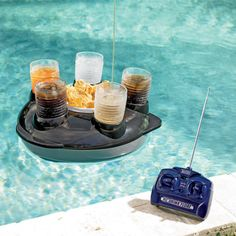 Remote Controlled Drink Float. Awesome!