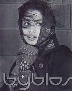 Byblos, 1989 Photographer : Albert Watson Model : Kara Young