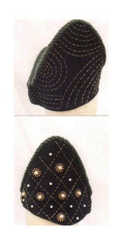 Medieval Hat for SCA  custom made hat  ©Chickoteria 2012