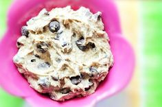 If you can only make ONE recipe for Super Bowl Sunday, make this cookie dough dip. You will not regret it.