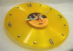 ELVIS PRESLEY Canadian Tribute  Recycled Record by ItsOurEarth