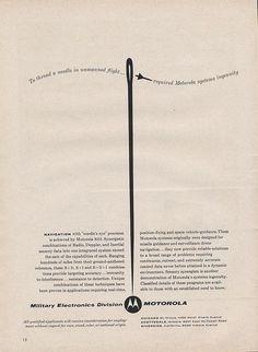 Motorola Ad    Ad Agency: Charles Bowes Advertising, Inc.