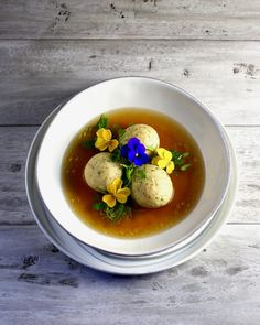 My Beautiful Matzoh Ball Soup - Taste With The Eyes