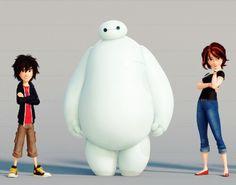 Big Hero 6 character line up