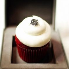 A cool way to propose! My fat a** would probably eat the ring hahahha
