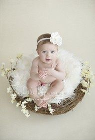 Six month photo and outfit ideas