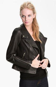 Mackage 'Perfecto' Leather Jacket