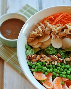 11 Skinny Chinese Dishes: Conquer Your Cravings the Healthy Way food, asian salad, healthi, asian layer salad, eat, yummi, recip, skinni mom, salads