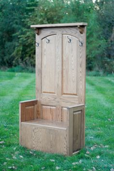 cabinets, chairs, door furniture, cabinet doors, hall trees, old doors, coats, storage benches, antique doors
